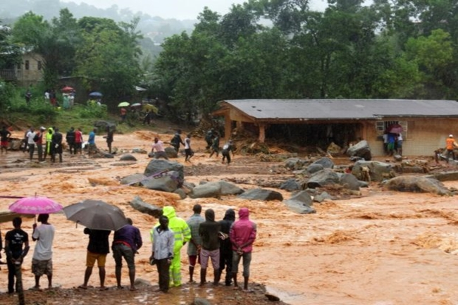 SIERRA LEONE-WEATHER-FLOOD