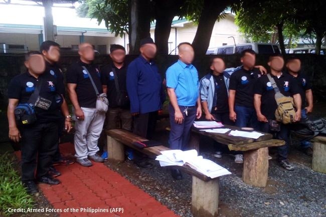 10 armadong kalalakihan na gtangkang pumasok sa Camp Aguinaldo arestado