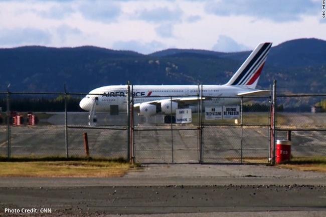 Air France 1380 Superjumbo Jetliner