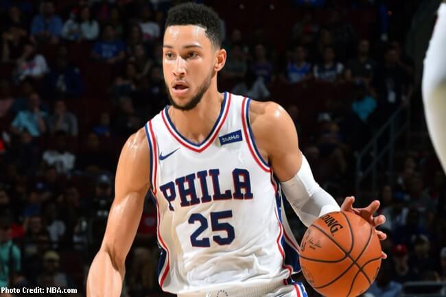 Ben Simmons ng Philadelphia 76ers