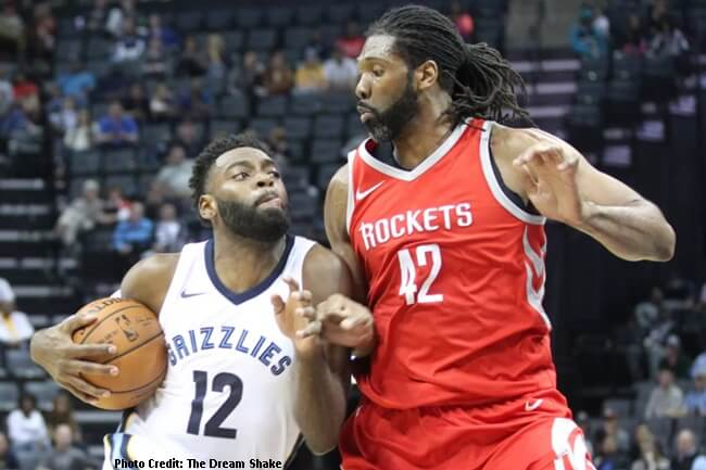 Houston Rockets nilampaso ng Memphis Grizzlies