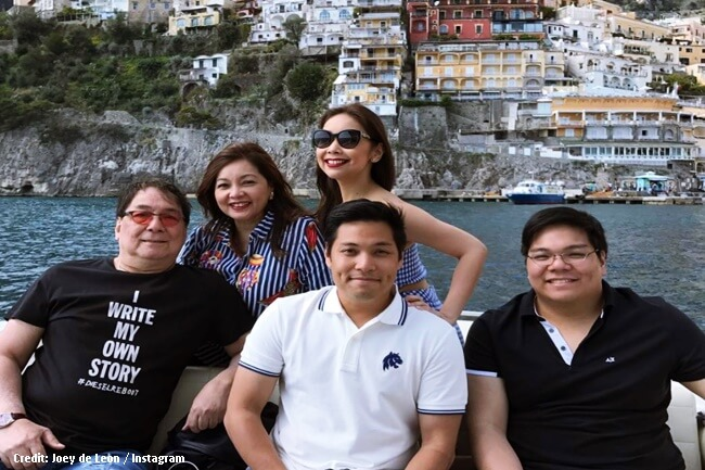 JOEY DE LEON AND FAMILY