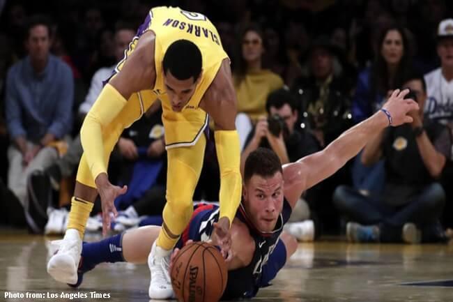 Los Angeles Lakers pinayuko ng LA Clippers sa season opener ng NBA