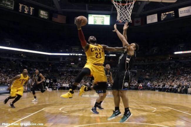 Milwaukee Buck inilampaso ng Cleveland Cavaliers