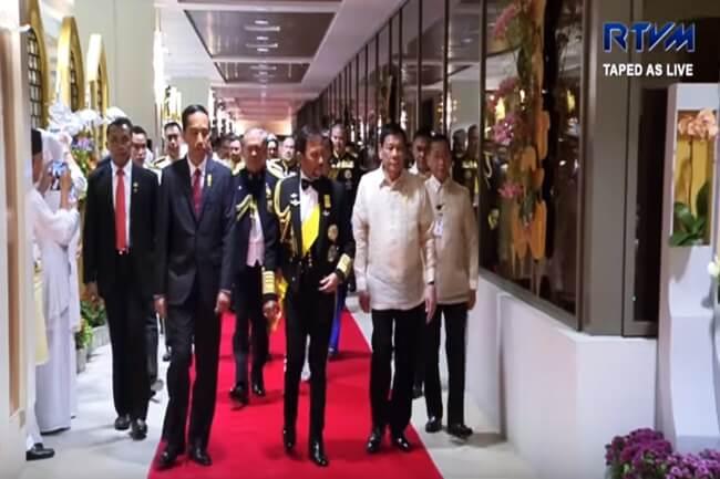 Pagbisita ni Pangulong Duterte sa Brunei naging produktibo