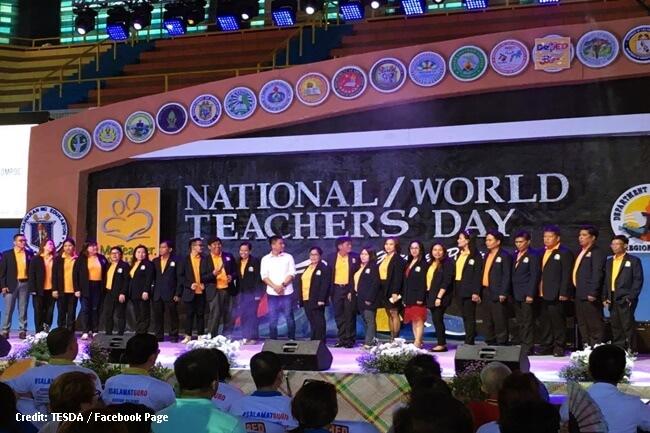 TESDA nakiisa sa 2017 National Teachers' Day