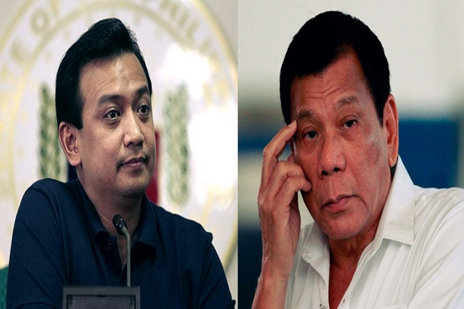 TRILLANES AND PDUTERTE