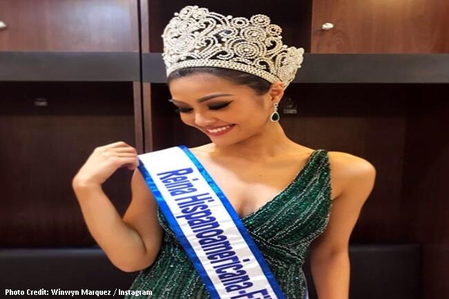 Winwyn Marquez Reina Hispaniamericana