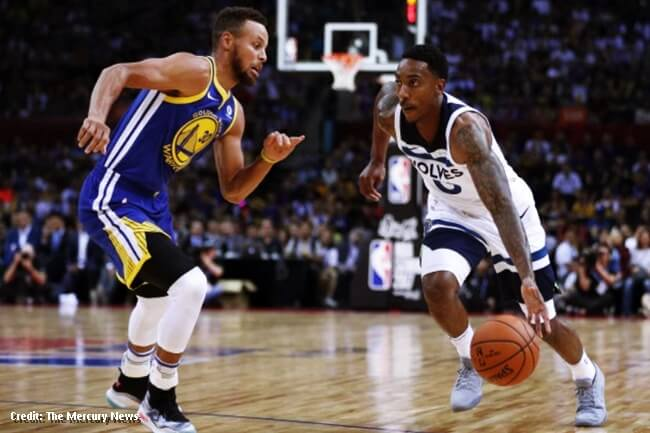 golden state warriors vs minnesota timberwolves 2017