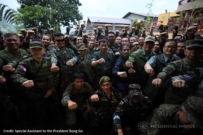 sixth visit to Marawi City, President Rodrigo Duterte 4
