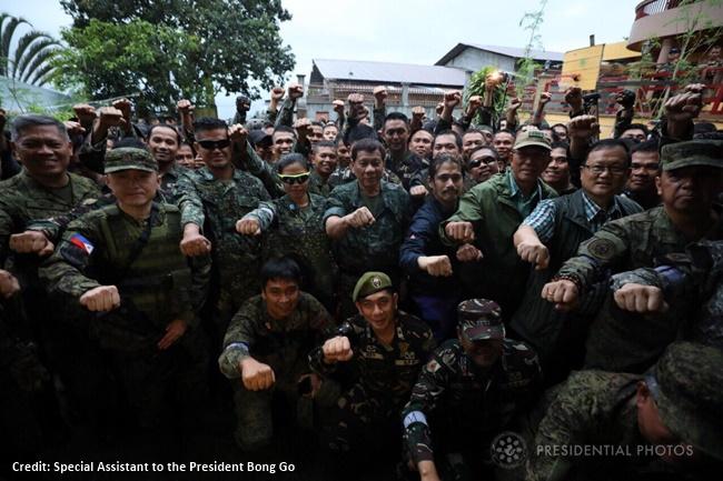 sixth visit to Marawi City, President Rodrigo Duterte 4