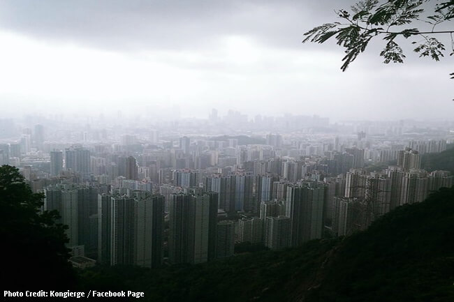 typhoon 'Khanun' sa Hong Kong