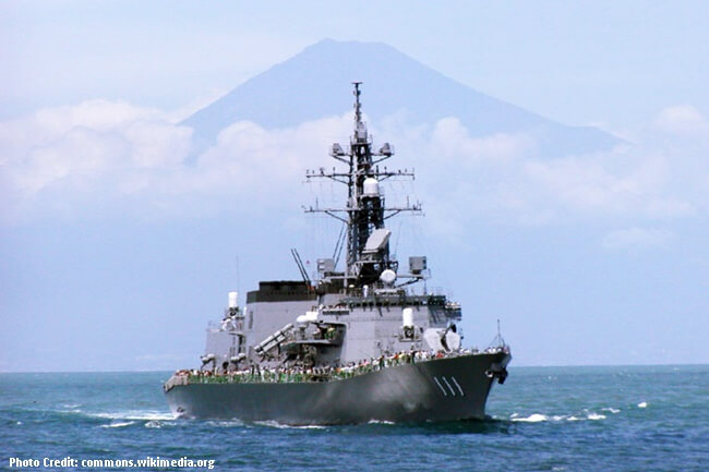 ANTI – SUBMARINE DESTROYER NG JAPAN NA JS ONAMI