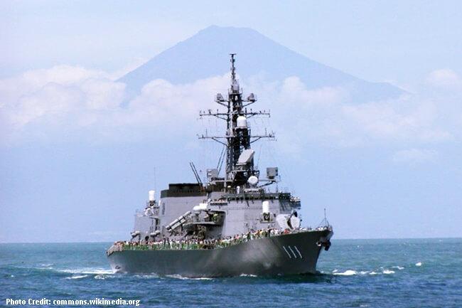 ANTI – SUBMARINE DESTROYER NG JAPAN NA JS ONAMI