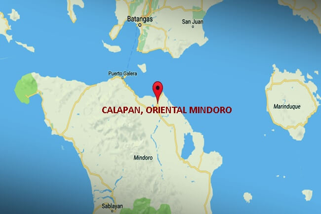 CALAPAN, ORIENTAL MINDORO MAP