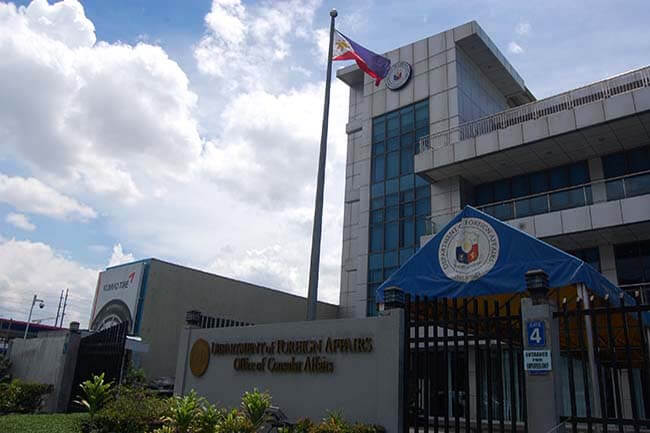 DEPARTMENT OF FOREIGN AFFAIRS 1