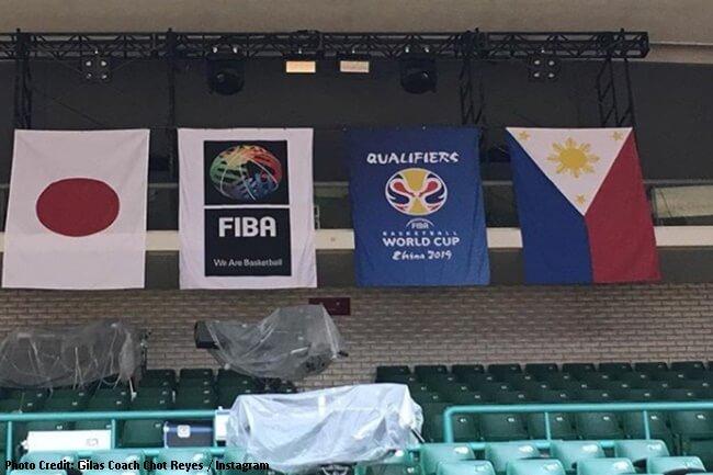 Japan vs Gilas 2019 Fiba – Asia World Cup Qualifiers