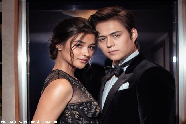 LIZA SOBERANO AND ENRIQUE GIL LIZQUEN