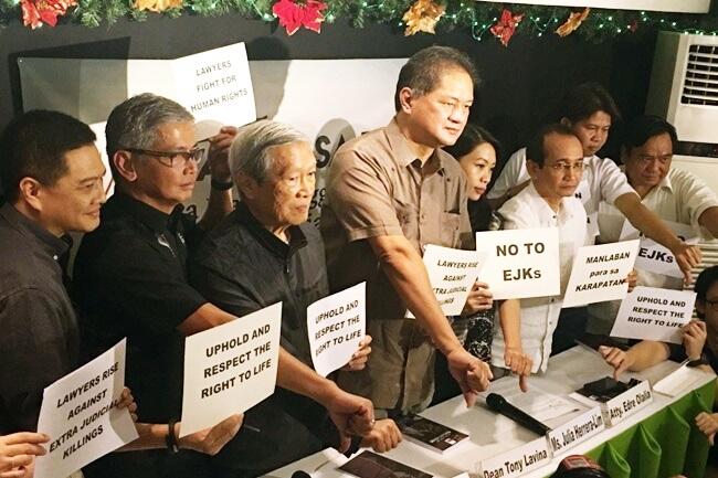 Manlaban sa EJK o Mga Manananggol Laban sa Extra Judicial Killings