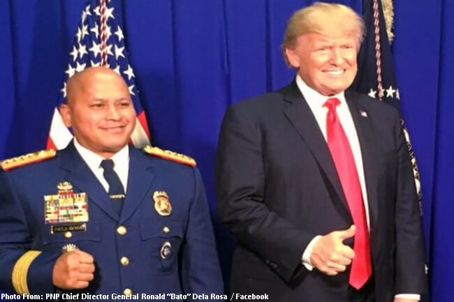 PNP Chief Dela Rosa at US Pres. Trump (1)