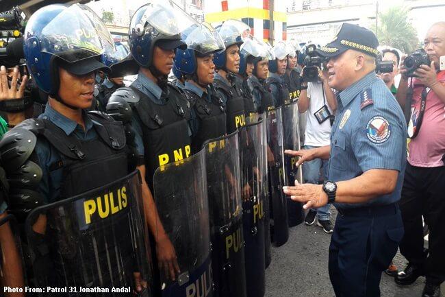 PNP Chief pinuri at pinasalamatan ang mga pulis na itinalaga para sa ASEAN Summit