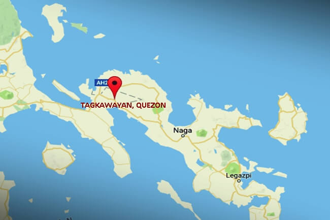 TAGKAWAYAN QUEZON MAP