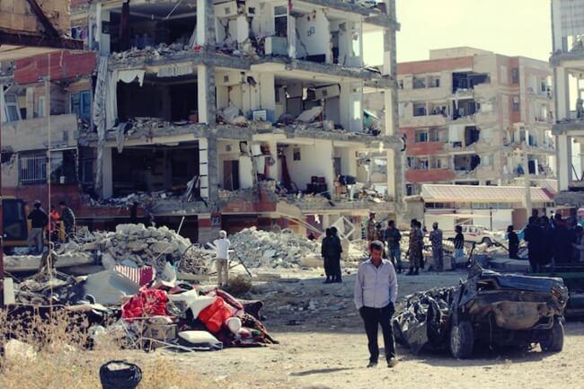 quake iran-iraq
