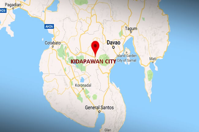 KIDAPAWAN CITY MAP