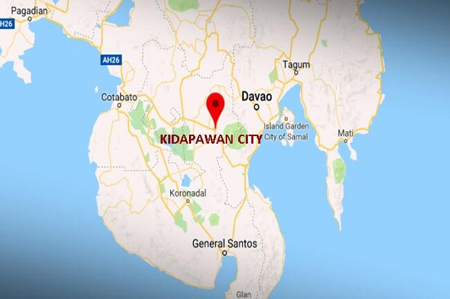 KIDAPAWAN CITY MAP