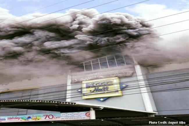 NCCC MALL DAVAO CITY FIRE