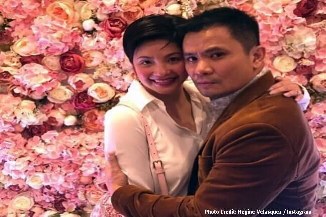 OGIE ALCASID AT REGINE VELASQUEZ