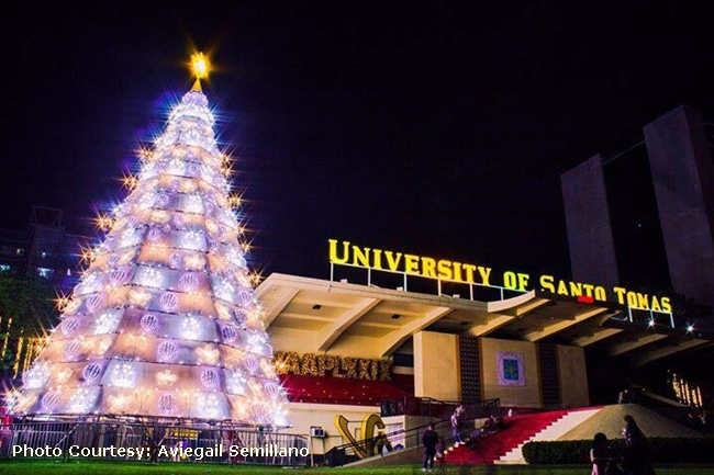 ust christmas tree