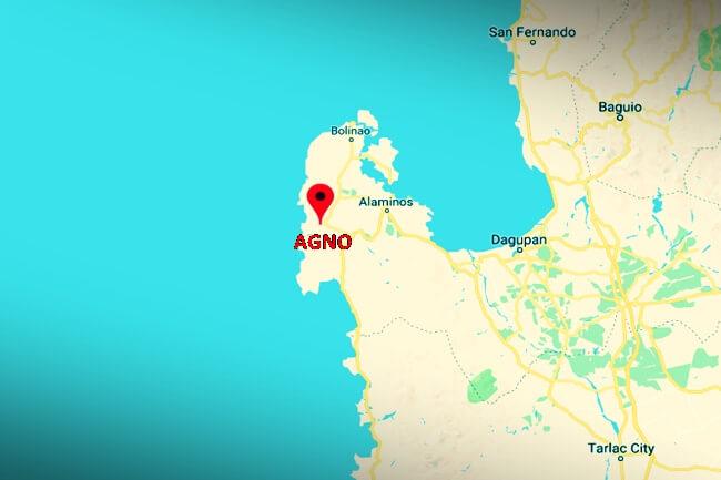 AGNO PANGASINAN MAP