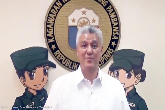 DEFENSE SPOKESMAN ARSENIO ANDOLONG