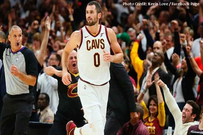 KEVIN LOVE OF CAVS