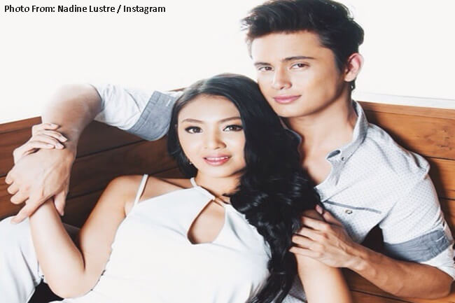 NADINE LUSTRE AND JAMES REID JADINE