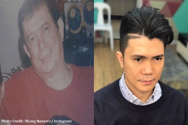 VHONG NAVARRO AND DAD#