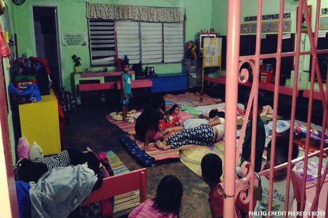 albay evacuees