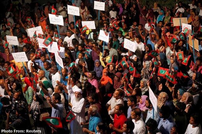 MALDIVES STATE OF CALAMITY