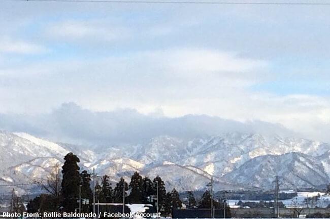 SNOWFALL SA JAPAN
