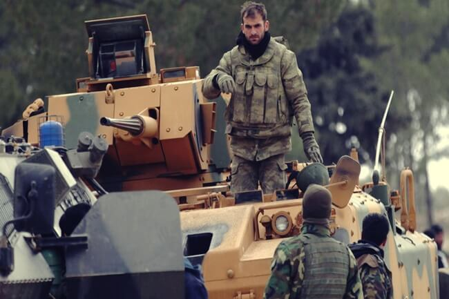 turkey syria armed forces