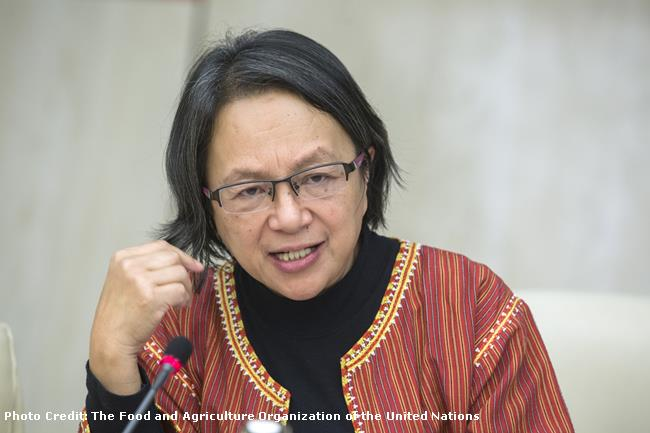 United Nations Special Rapporteur on the Rights of Indigenous Peoples Victoria Tauli-Corpuz.