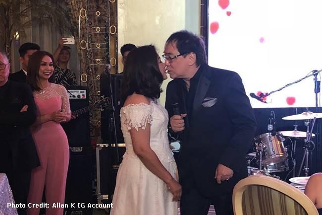 JOEY DE LEON-EILEEN MACAPAGAL WEDDING