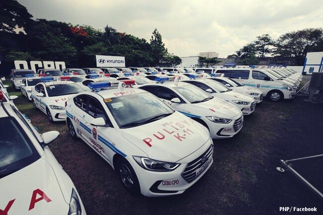 PNP PATROL CARS