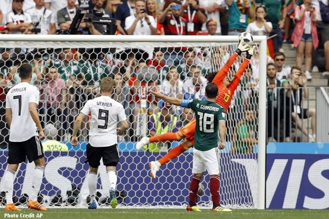 MEXICO VS GERMANY WORLD CUP