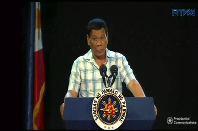 Pres Duterte at God