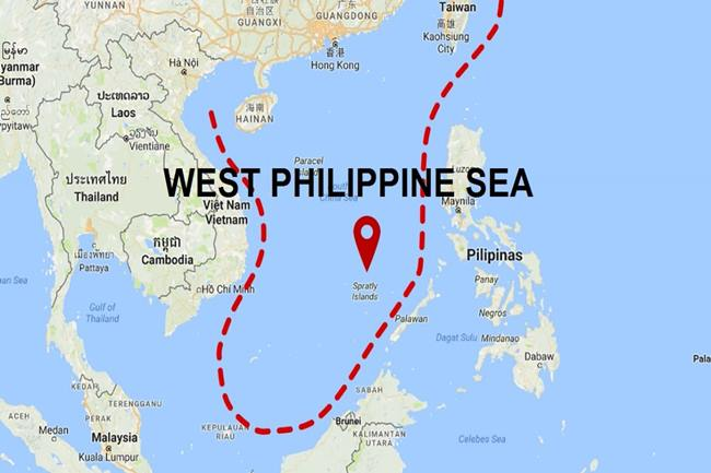 west philippine sea