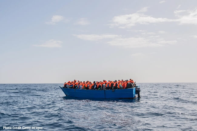 MIGRANTS MEDITERRANEAN SEA