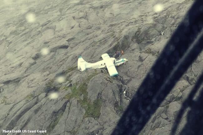 crashed plane alaska