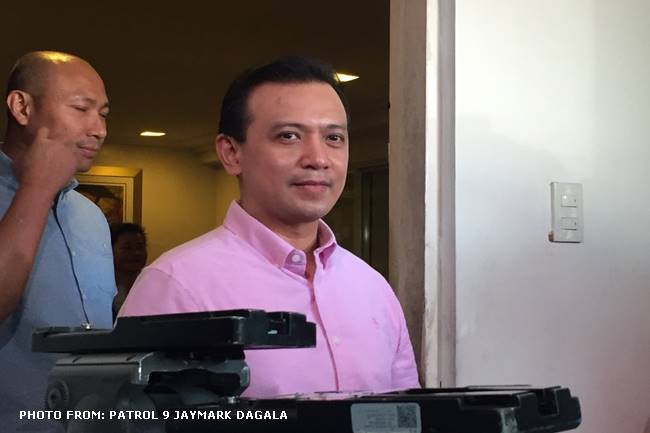 TRILLANES BACK AT HOME IN ANTIPOLO